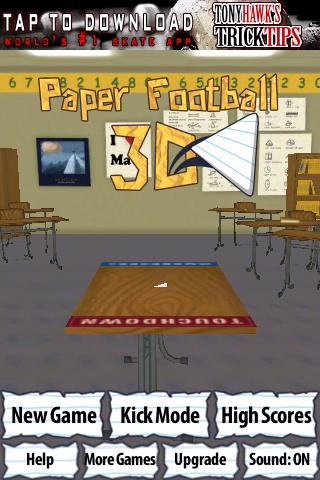 Screenshot PaperFootball 3D Deluxe